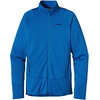 Patagonia M's R1 Full Zip Jacket Andes Blue